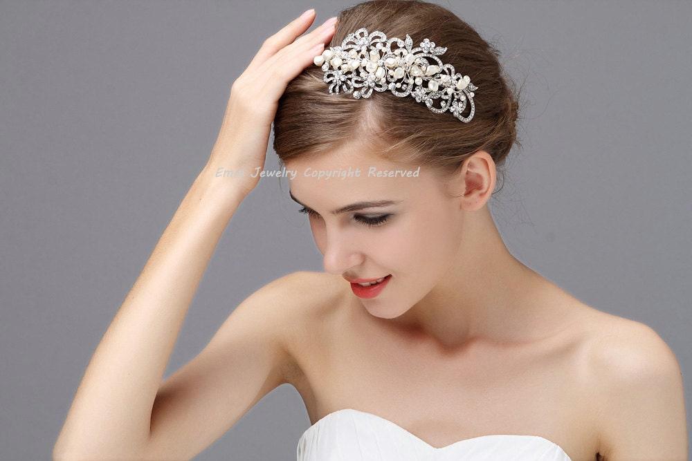 wedding hair bands vintage