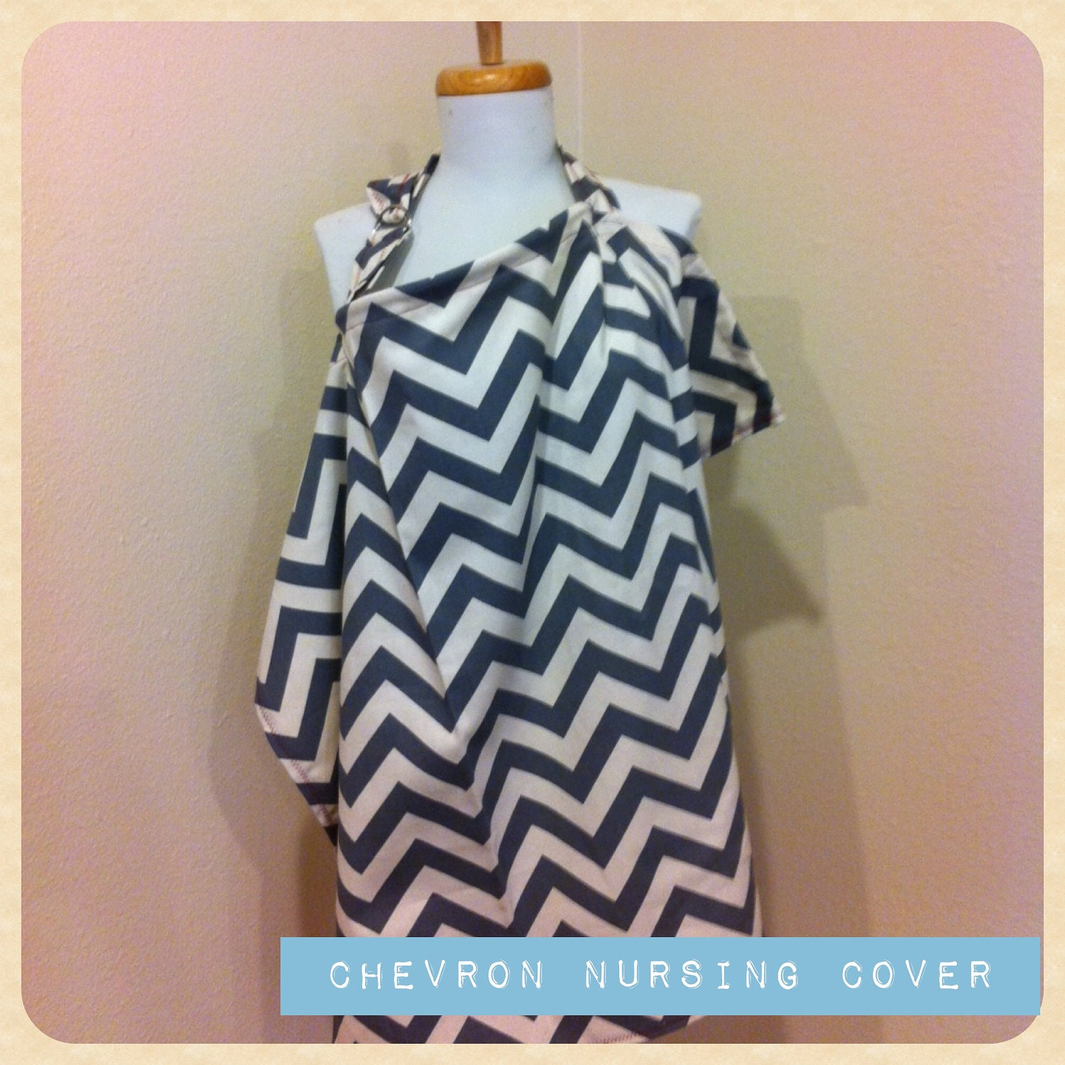 Nursing Cover - Custom/Chevron