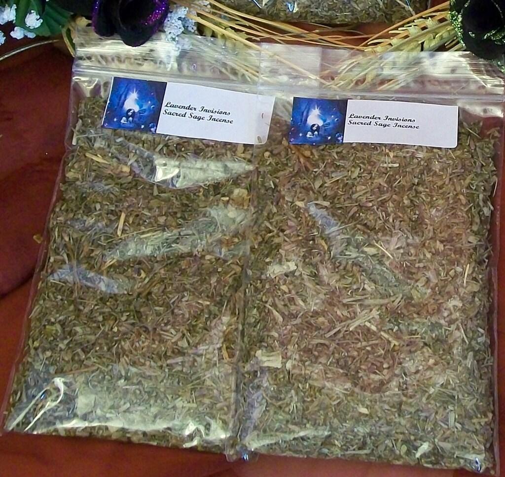 Lavender Invisions Sacred Sage Incense Large