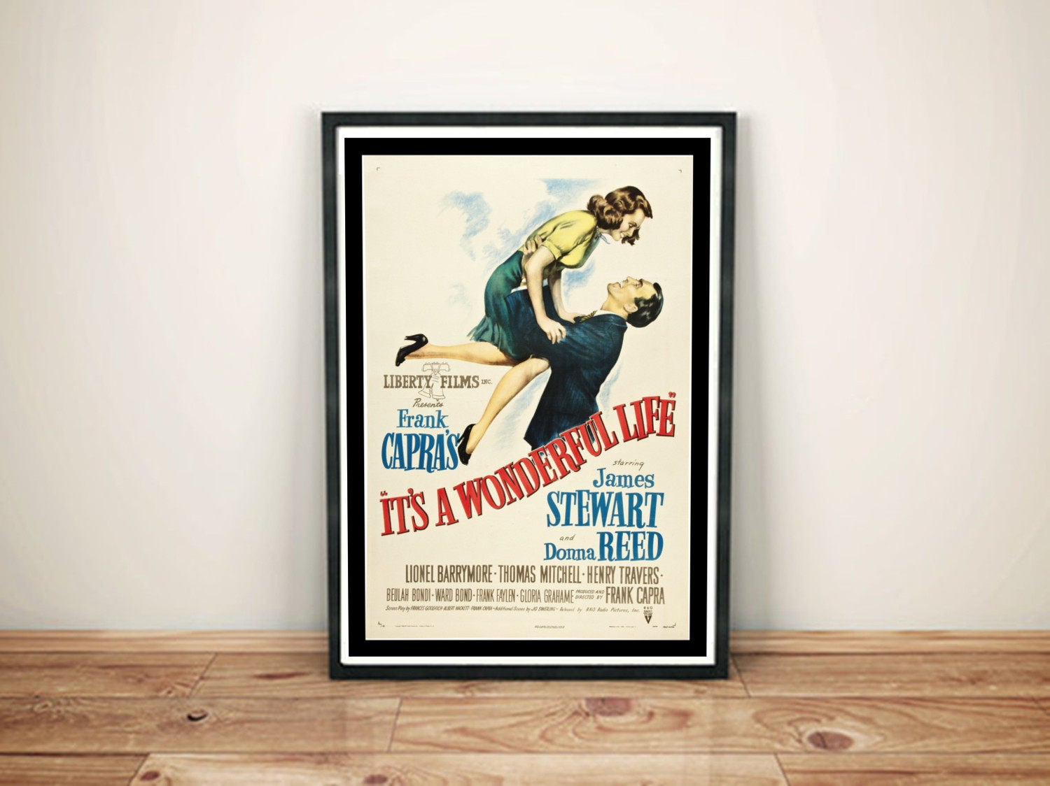 27x40 Its a Wonderful Life  Embrace Group Movie Poster