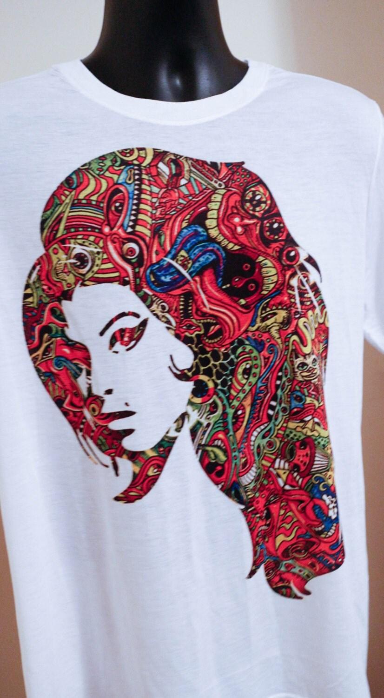 Incredible Amy WinehouseShirt Amy Winehouse Amy Winehouse Shirt Music Tshirt  T Shirt Tees Gift Tribute tshirt to Amy Winehouse