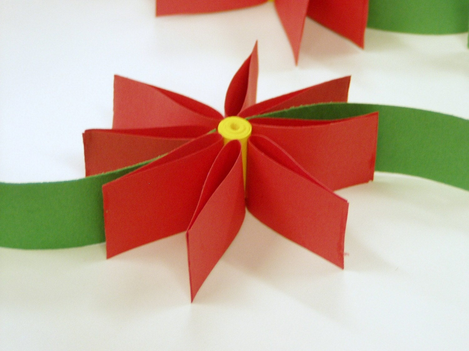 paper Christmas Tree ornaments by gfout on Etsy ~ 201926_Christmas Decoration Ideas With Construction Paper