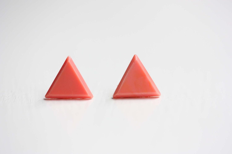Coral Triangle Studs - diamentdesigns