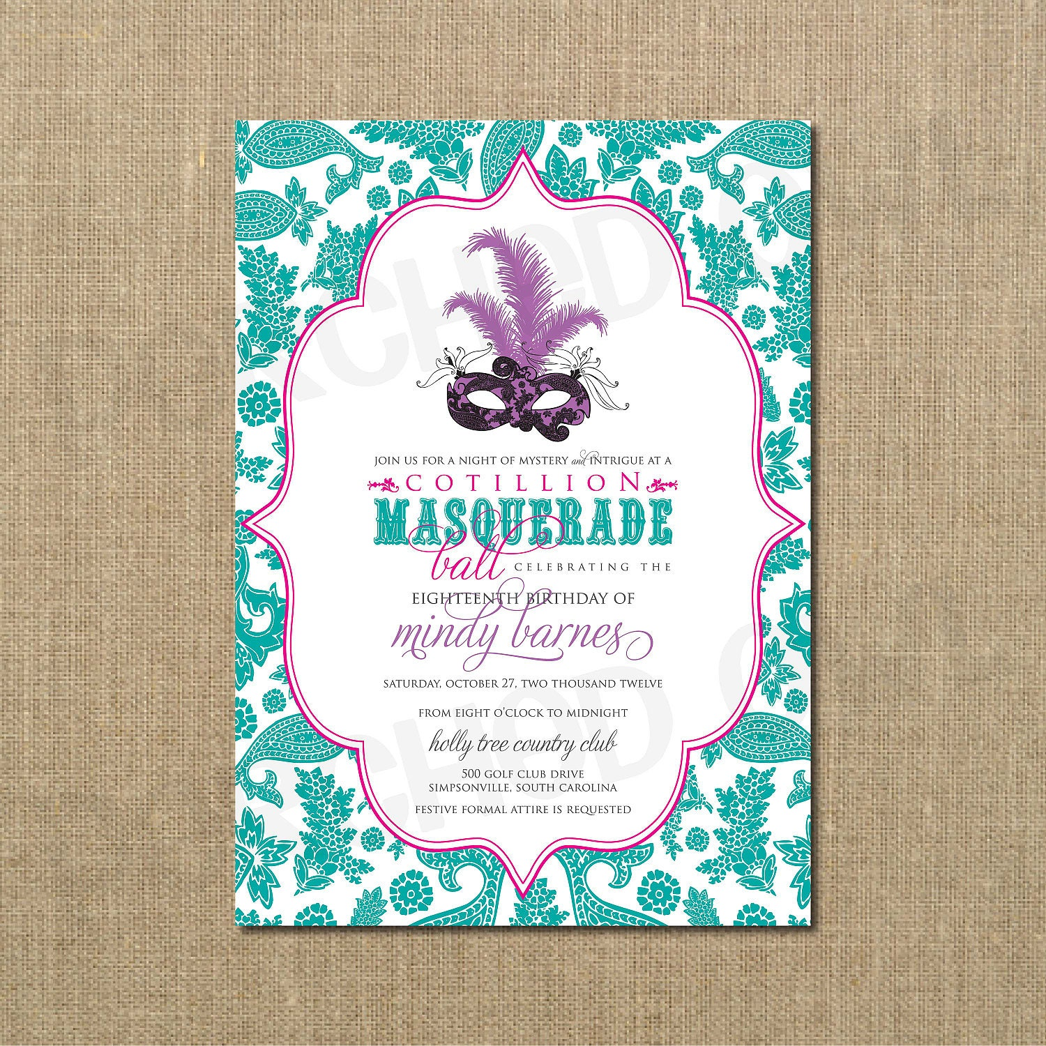 Masquerade Invitations For Sweet 16 was good invitation layout