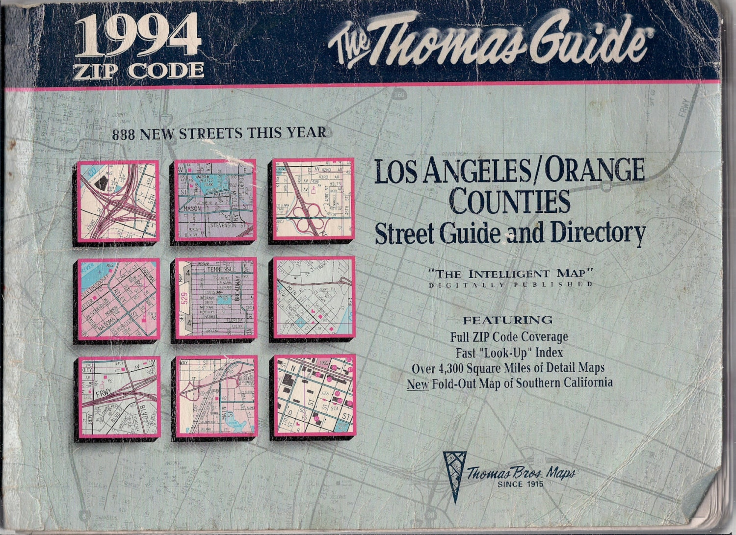 Book Cover Art Zip Code : California thomas guide maps los angeles and by vivalasvintage