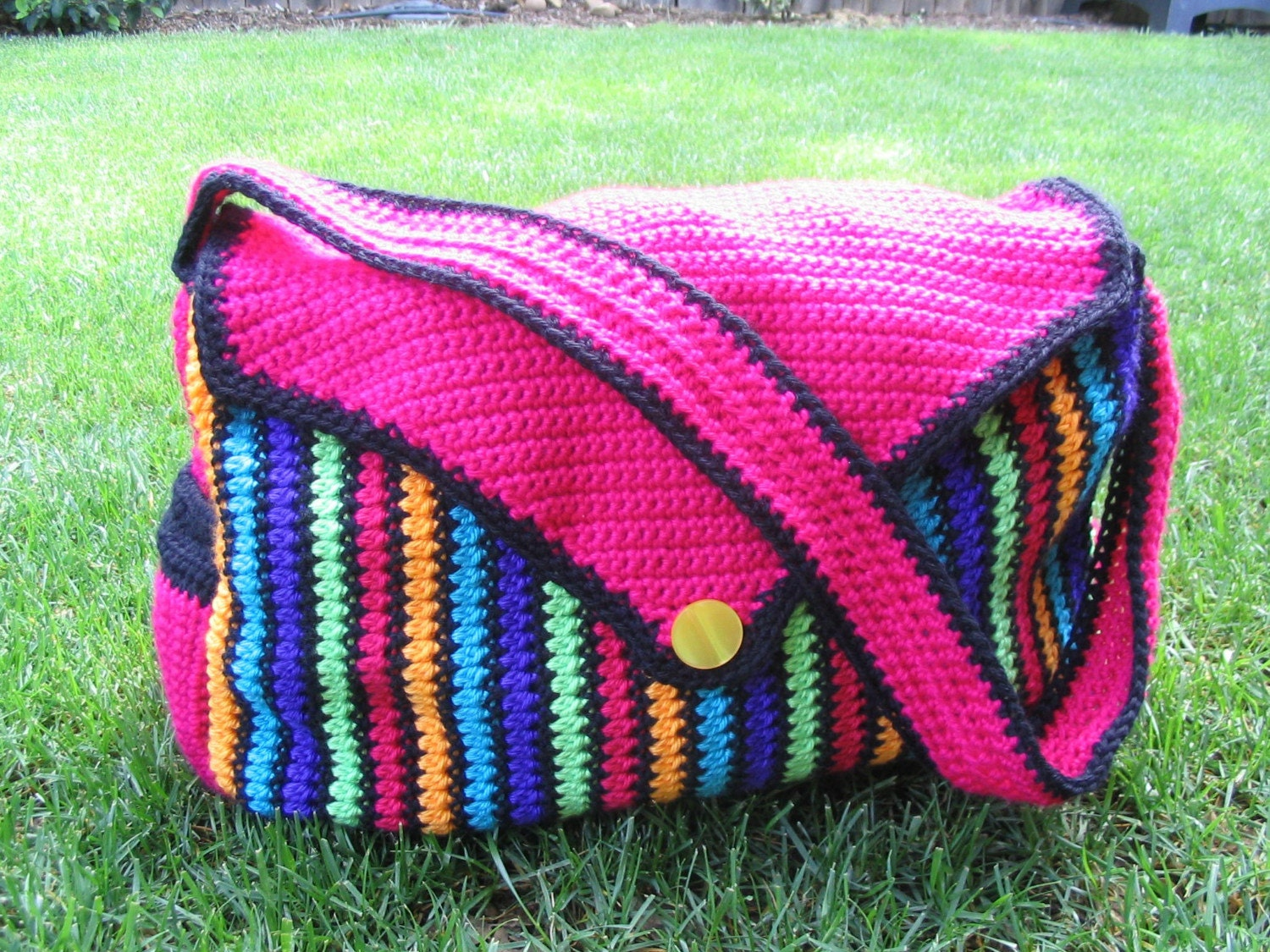 Crochet Pattern Central Bags : DIAPER BAG CROCHET ? Crochet For Beginners