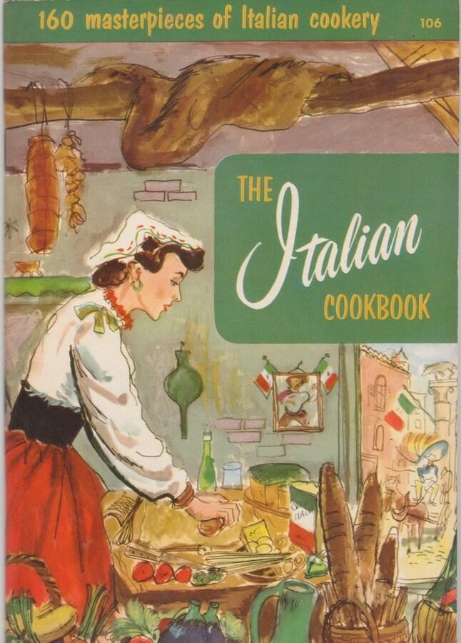 1950s Italian Cookbook by Culinary - 144.5KB