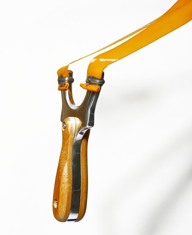 Bloodshot DK Solid aluminium catapult slingshot