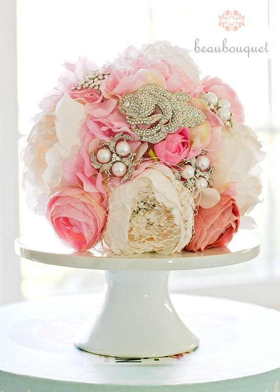 Brooch Bouquet Crystal Brooch Custom Made Rhinestone Brooch