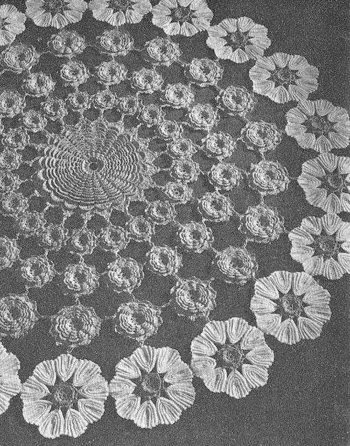 Crochet Flower Doily Pattern : 301 Moved Permanently