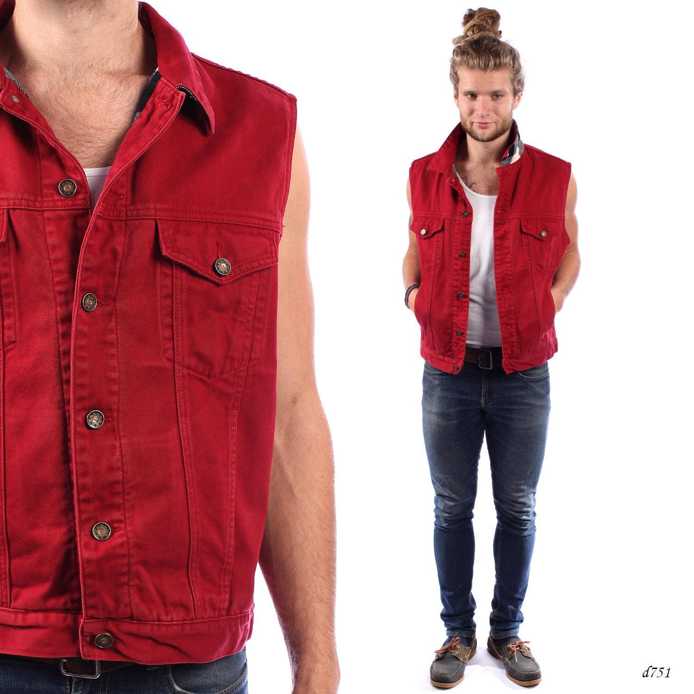 Denim vest mens fashion 18