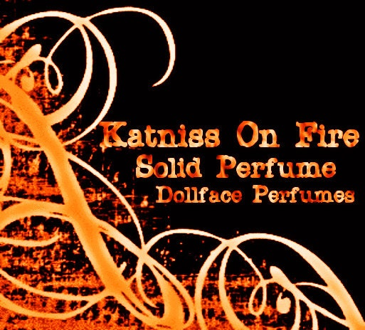 Katniss On Fire Solid Perfume - DollfacePerfumes