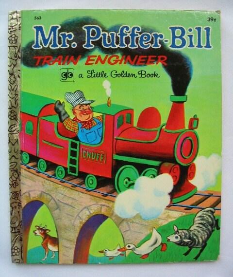 Mr. Puffer-Bill Train Engineer Leone Arlandson