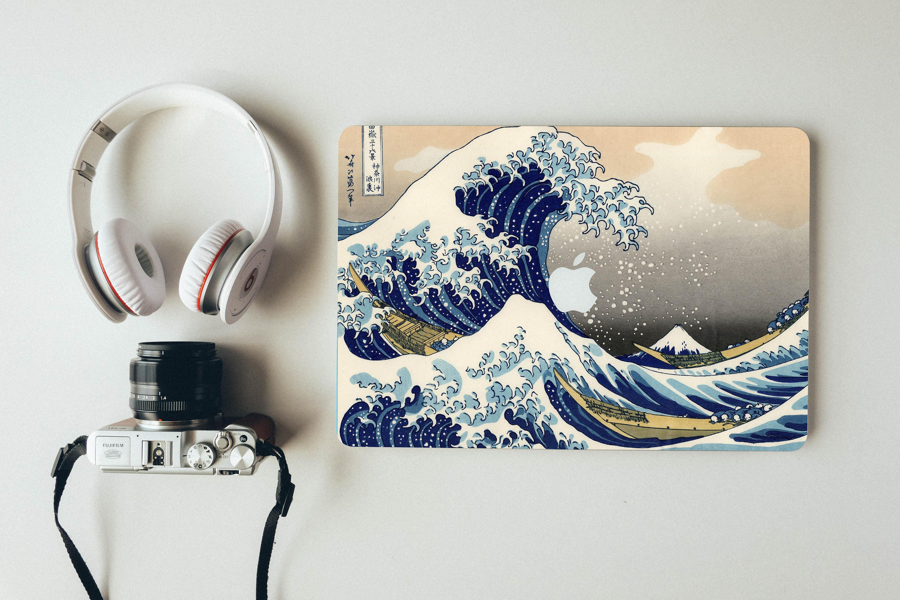 Macbook Decal The Great Wave Off Kanagawa Apple Laptop Stickers Mac Skin
