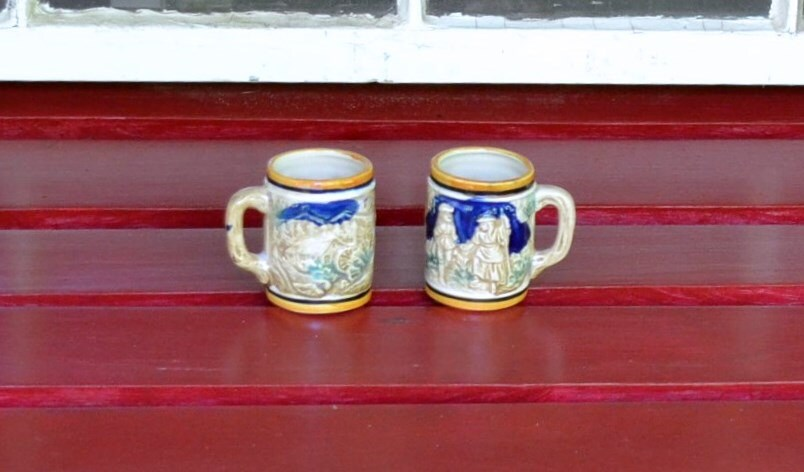 Vintage Beer Steins Small Made in Japan - PanchosPorch