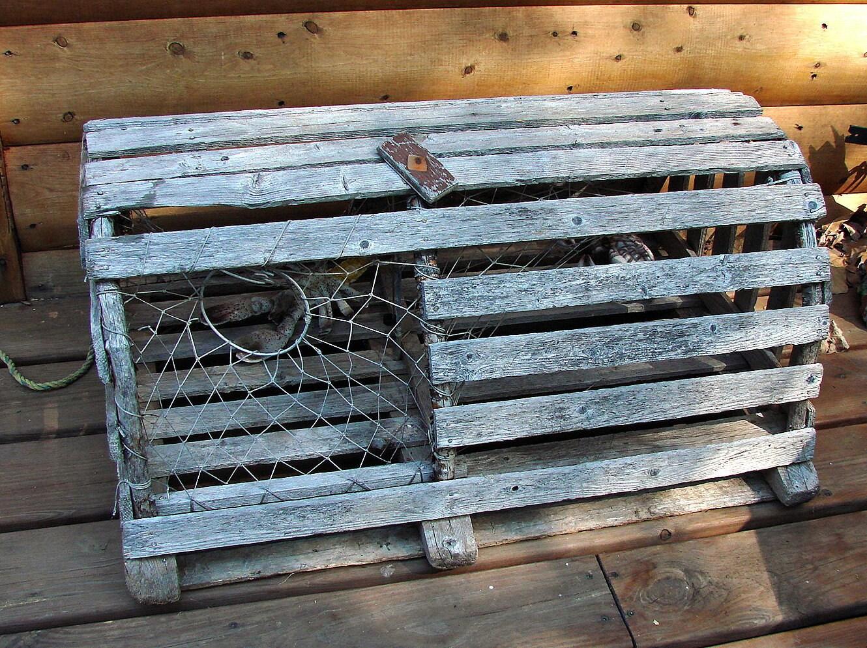 Antique lobster traps for sale