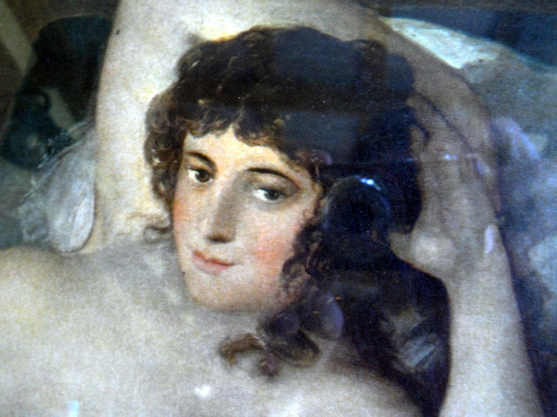 Goya Nude Print La Maja Desnuda By Pearlsvintage On Etsy