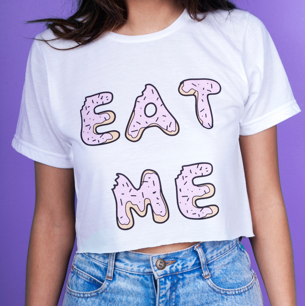 Eat Me Crop Top