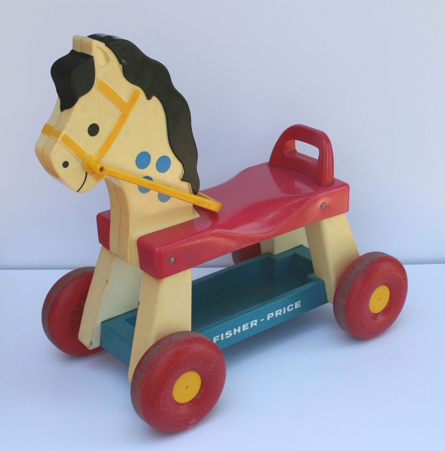 Vintage 1976 Fisher Price Ride On Riding Horse Model by ...