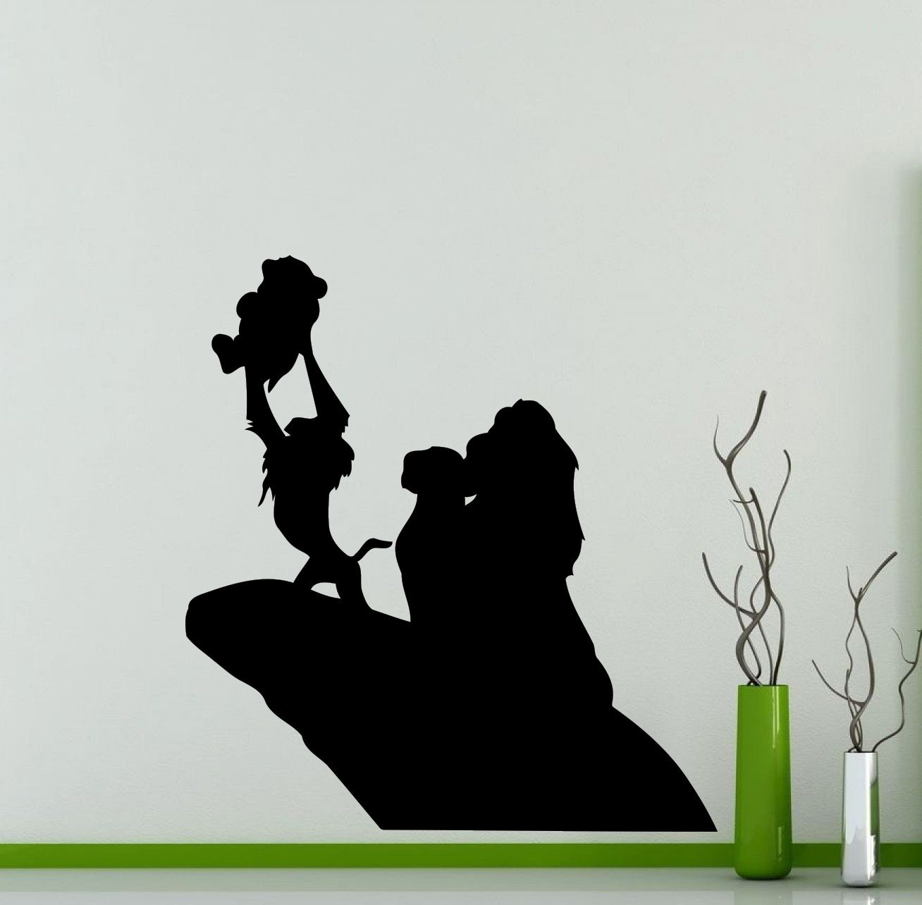 Lion king wall decals for nursery
