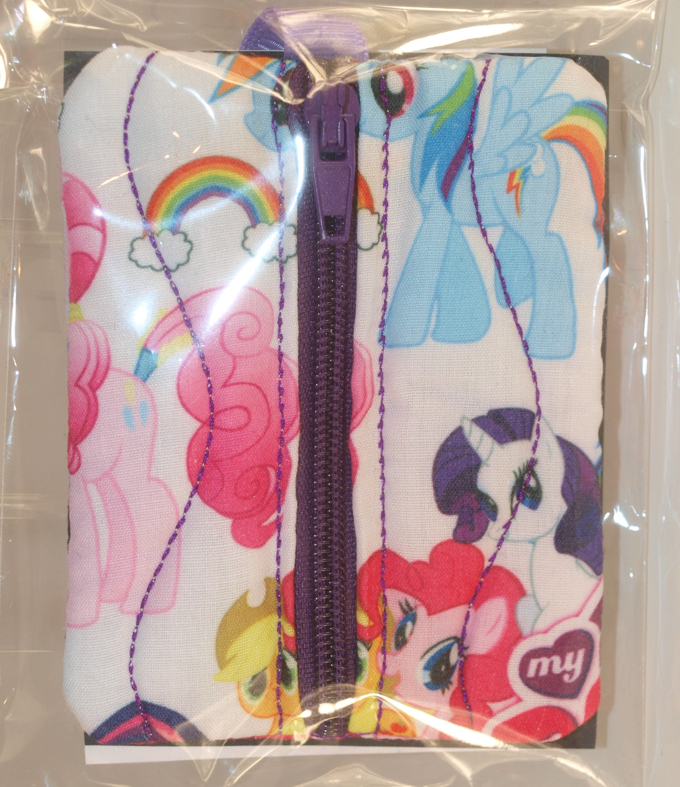 My Little Pony Coin purse, MLP purse, MLP pouch, Memory stick holder, Pony gifts, MLP accessory, Earphone holder, My Little pony gift,