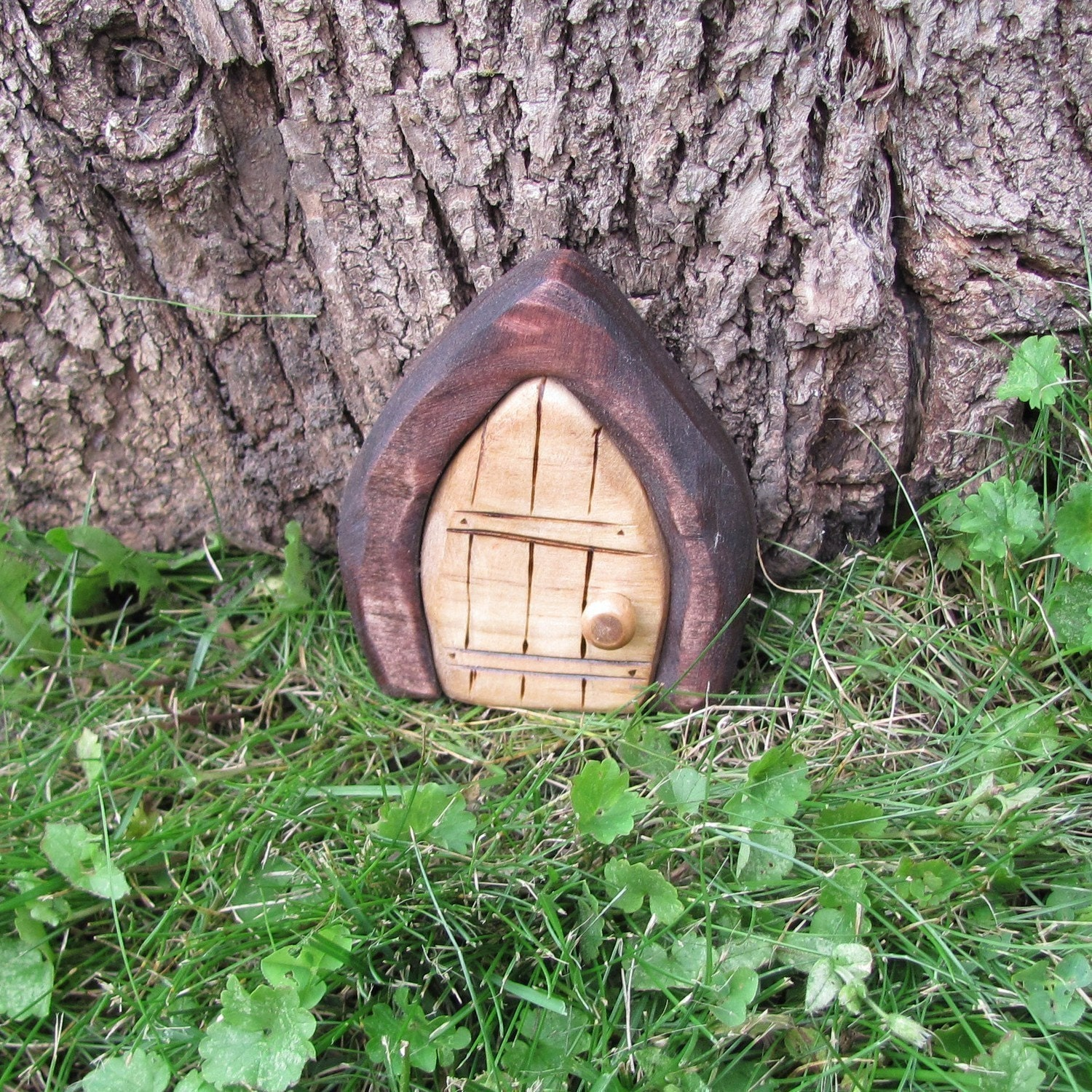 Mini gnome door fairy door faerie door by banished on etsy for The little fairy door