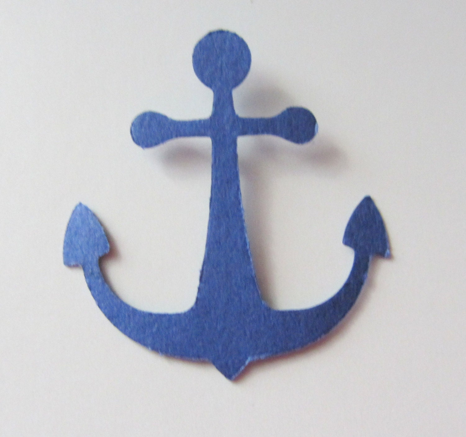 Nautical Anchor Cutouts, Confetti - Navy Blue - FREE SHIPPING