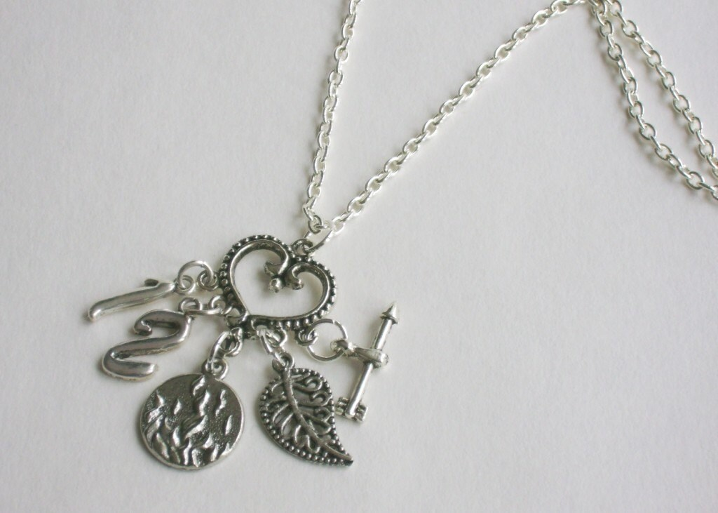 Items similar to design your own charm necklace on Etsy