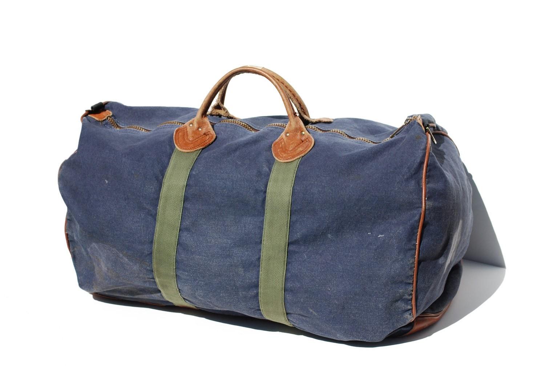 vintage l l bean duffel bag by jfmeadows on etsy