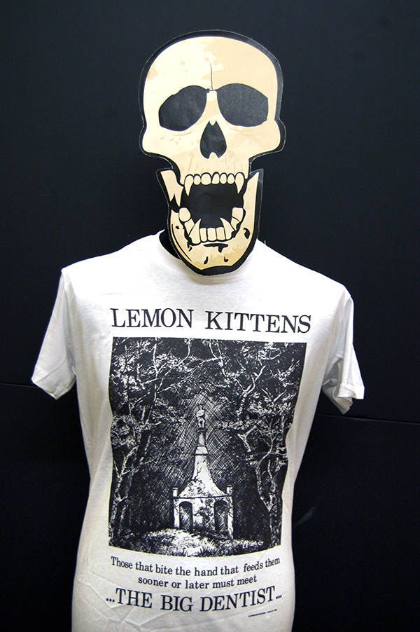 Lemon Kittens  The Big Dentist  TShirt