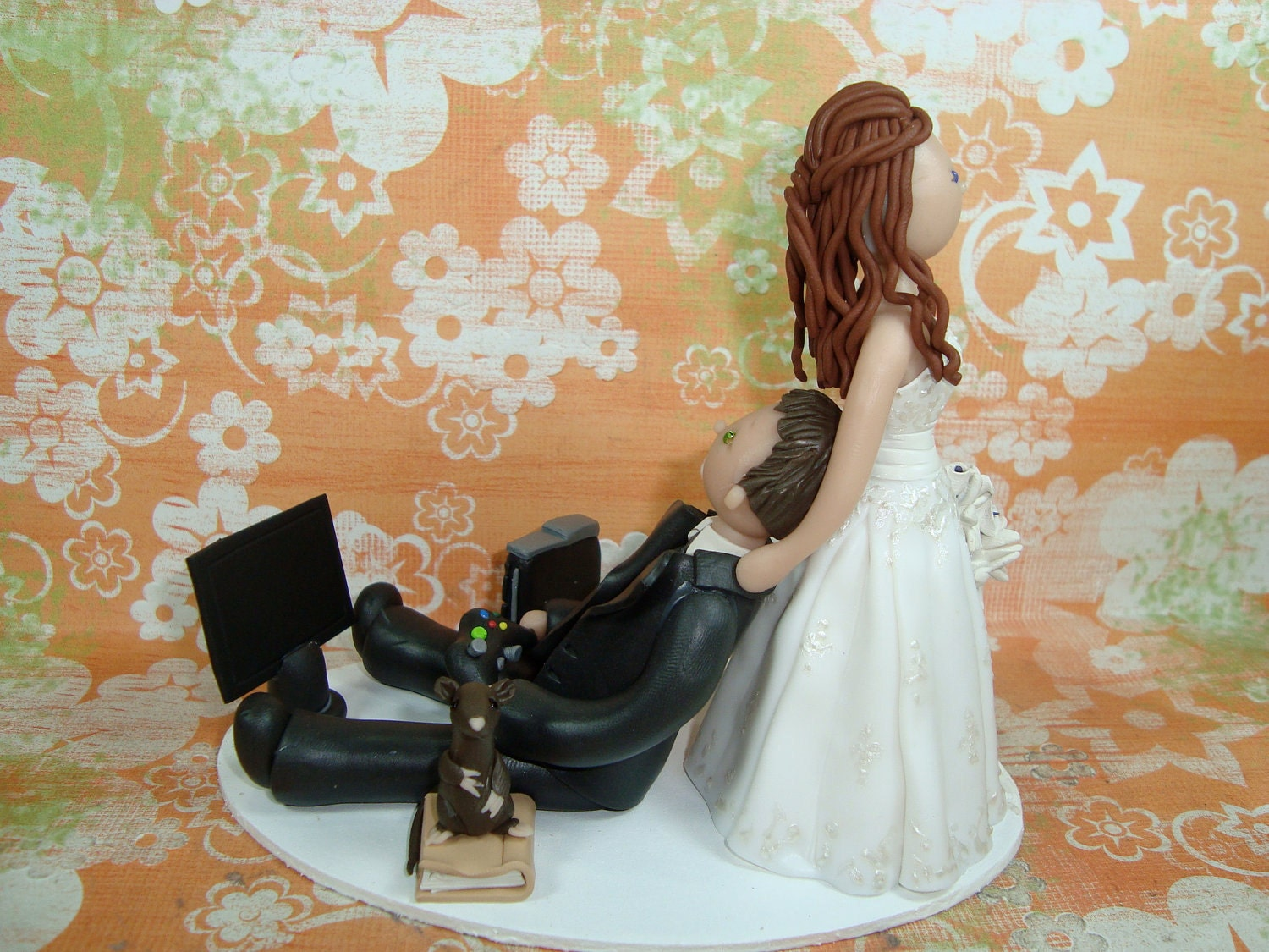Pin Dragging Bride And Groom To Altar Cake on Pinterest