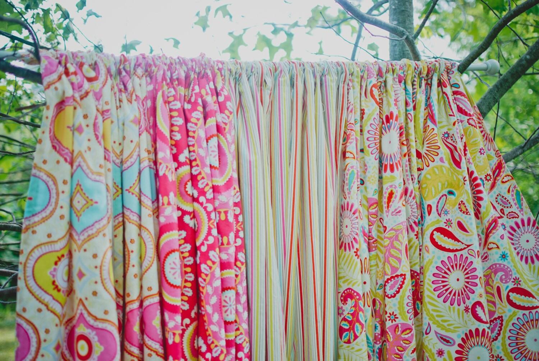 Curtains for girl nursery