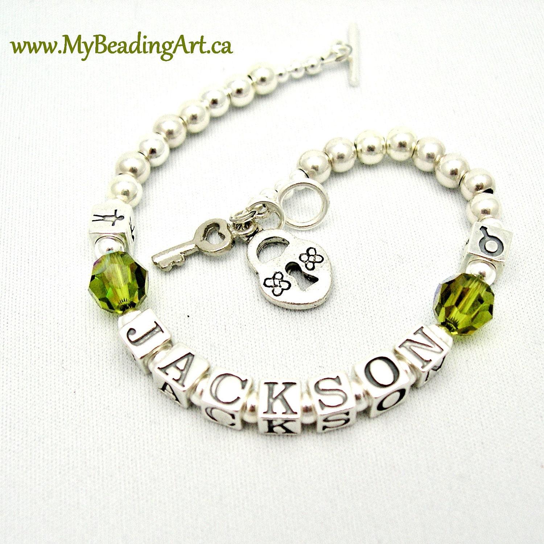 name bracelets custom personalized bracelet by