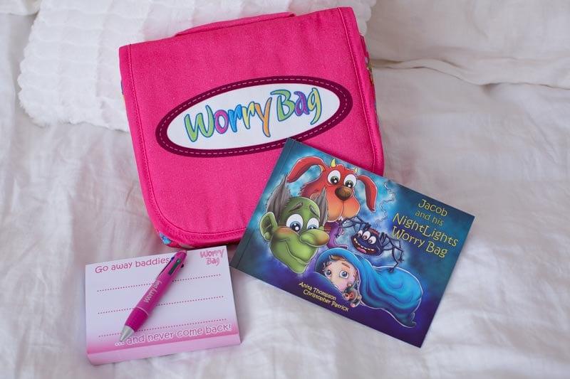 Pink Worry Bag Sleep Solution  Worry Bag  Anxiety  Nightmares  Sleep Aid  Worry Doll  Worry Box  Holistic