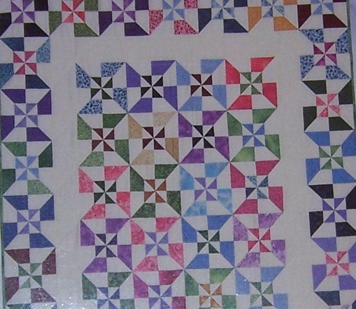 Quilt Patterns For 20 Fat Quarters : 20 Fat Quarters Fabric And Book Kit Quilt In A Day by gregshoney