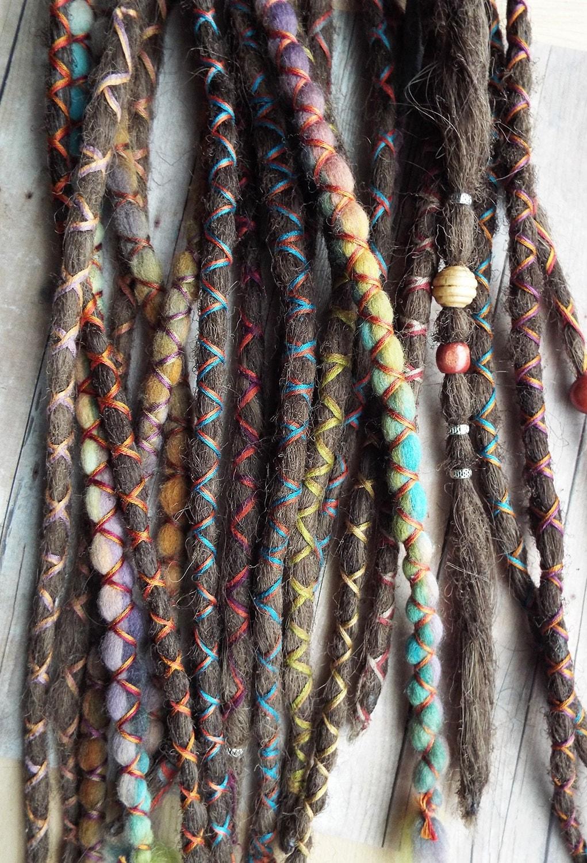 10 Custom Dreads Hair Wraps Amp Beads Bohemian By