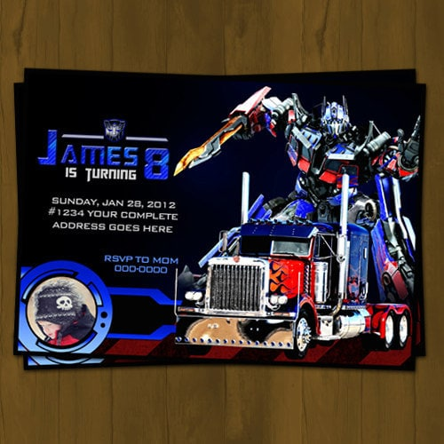 Transformers Birthday Invitations correctly perfect ideas for your invitation layout