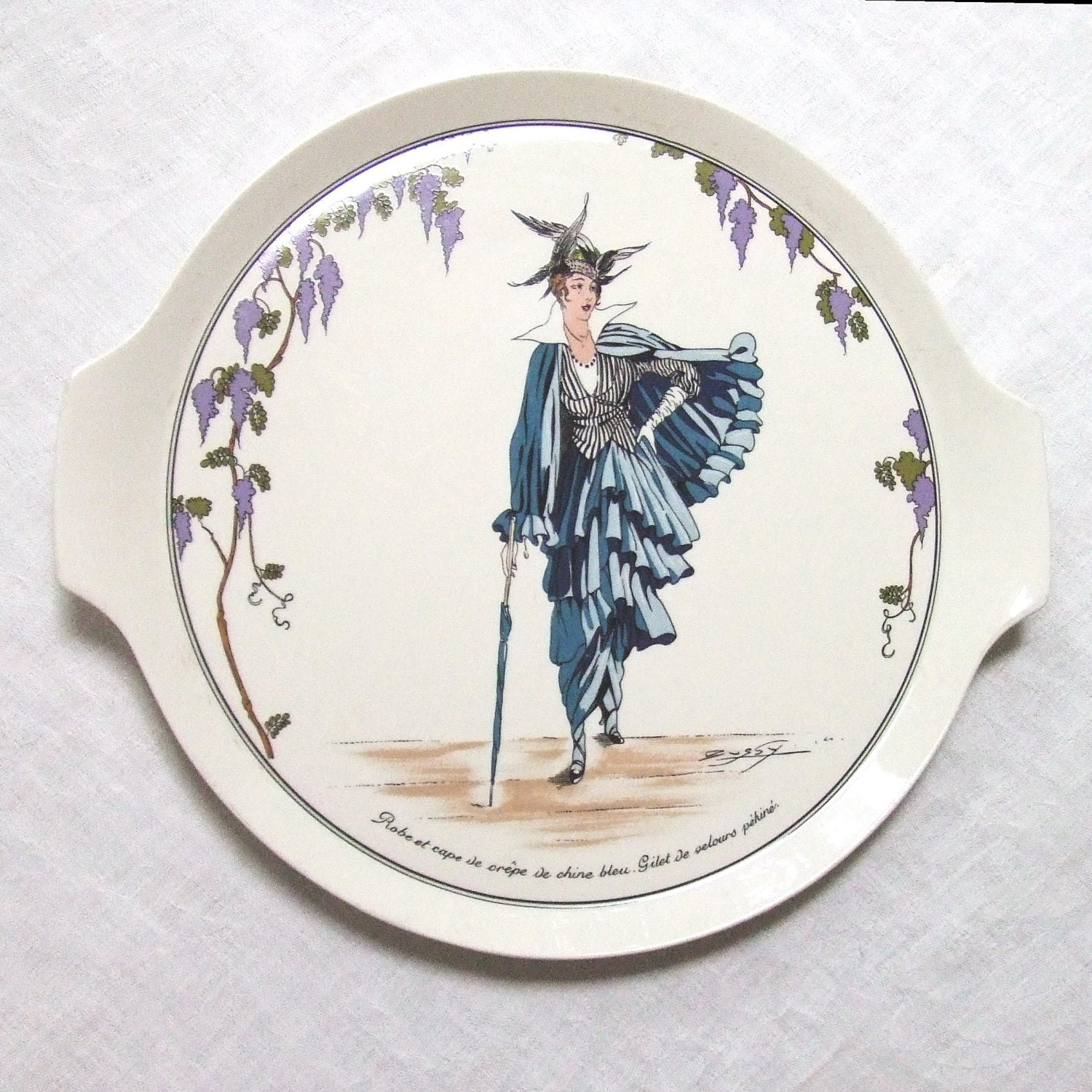 Unavailable listing on etsy for Villeroy and boch plates