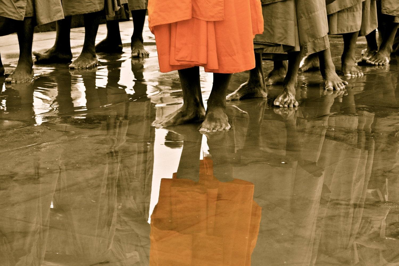 Sea of Monks - MeganPPhotography
