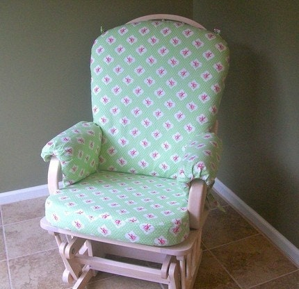 Items similar to Rocking Chair Slipcover - Custom Fitted on Etsy