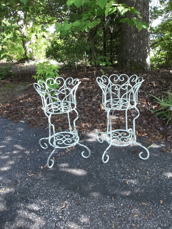 items similar to reserve vintage garden decor wrought iron plant stands wedding decorations. Black Bedroom Furniture Sets. Home Design Ideas