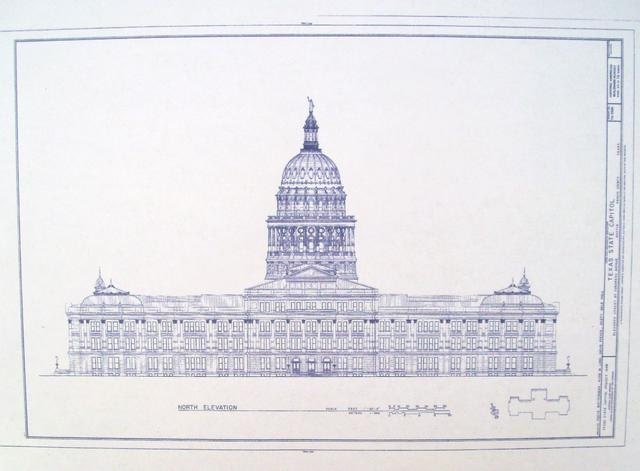 Explore united states capitol blueprints todays homepage texas state capitol building blueprint by blueprintplace malvernweather Gallery