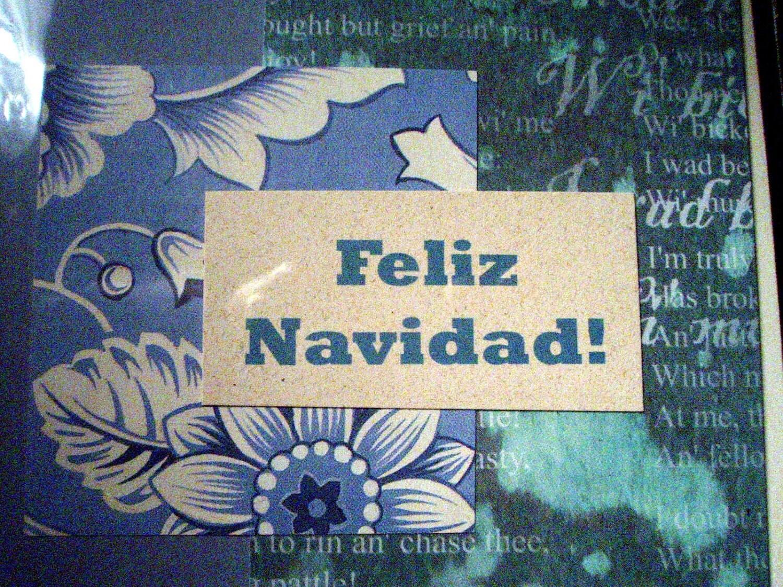 Feliz Navidad - Spanish Christmas Card
