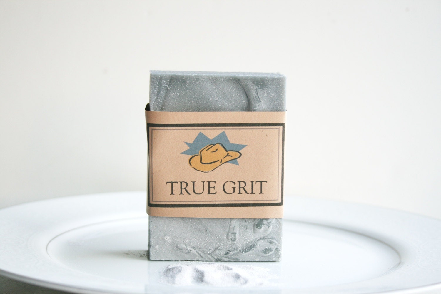 TRUE GRIT Soap -  Handmade Soap - Essential Oil  Soap - ElegantRoseBoutique