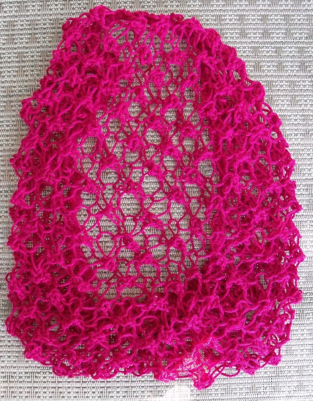 Hair Snood Knitting Pattern : Hair Snood Hand Knit From Vintage 1940s Pattern by ArtheliasAttic