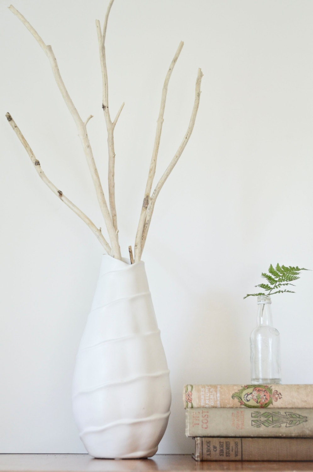 items similar to natural branches sticks twigs vase. Black Bedroom Furniture Sets. Home Design Ideas
