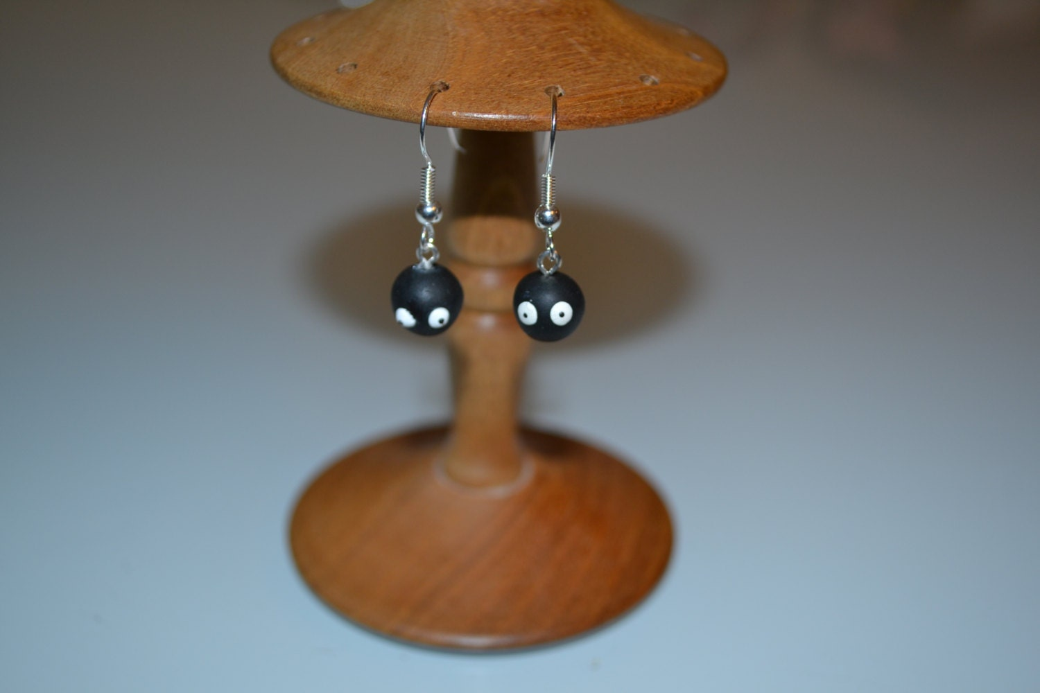 My Neighbour Totoro Soot Sprite Earrings
