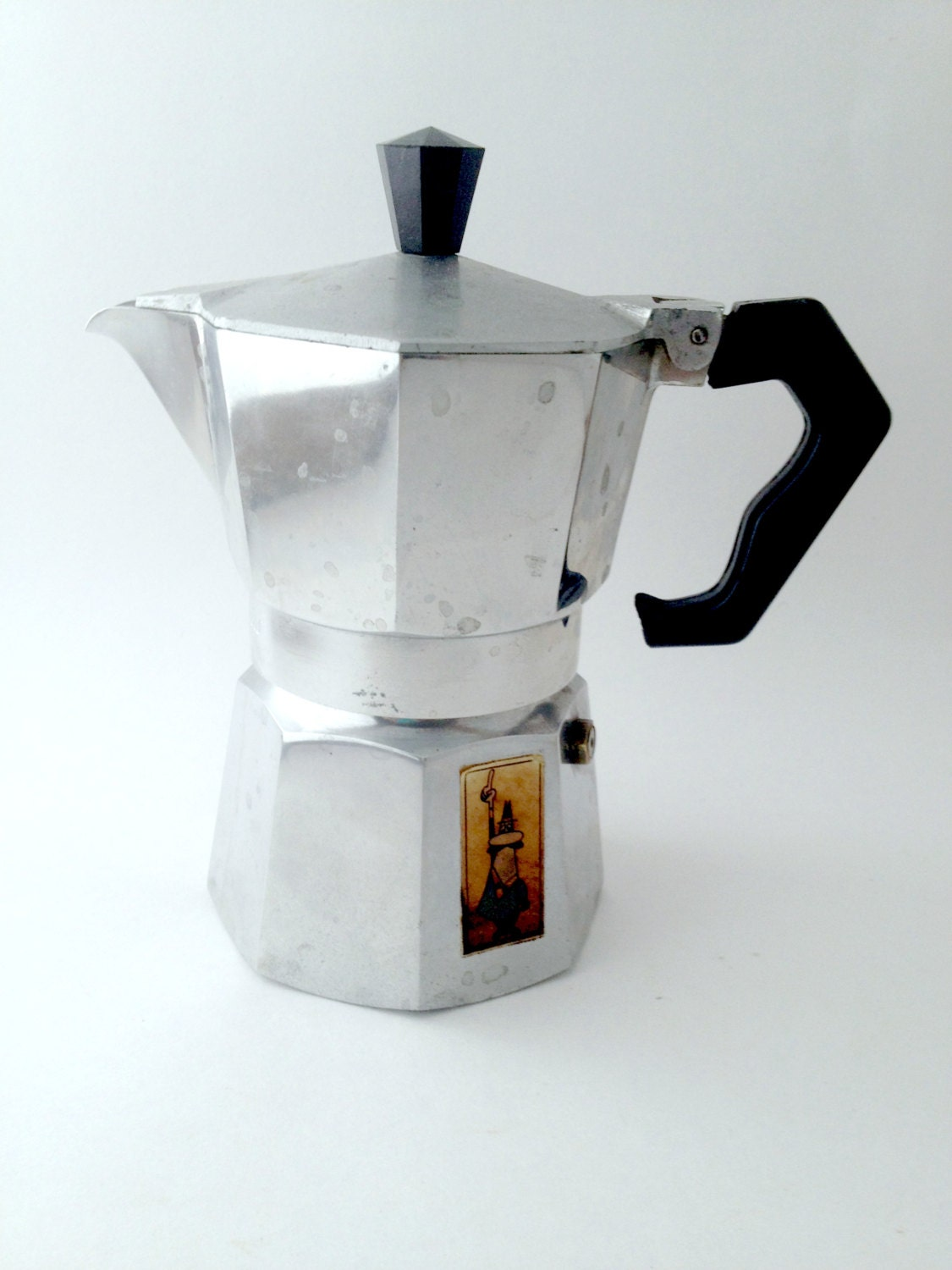Moka Express Stovetop Espresso Coffee Maker by MissBlissVintage