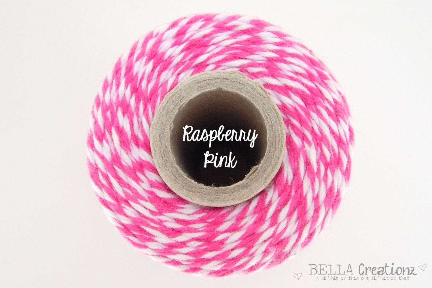 SALE - Raspberry Pink Bakers Twine by Timeless Twine