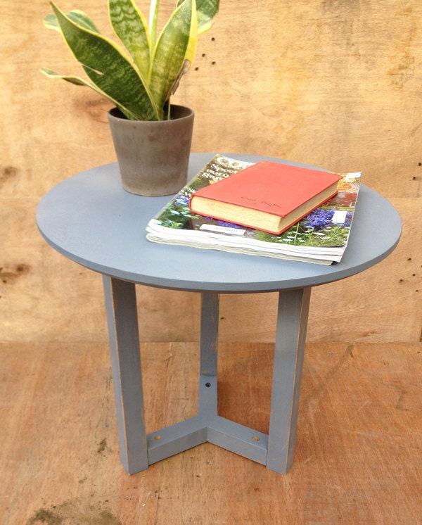 Upcycled Wooden Side Table Bedside Table Or Small By